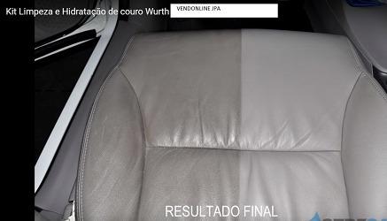 Kit Completo De Limpeza E Hidratação De Couro Da Wurth