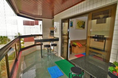 Apartamento Residencial À Venda, Praia Do Tombo, Guarujá - Ap3339. - Ap3339