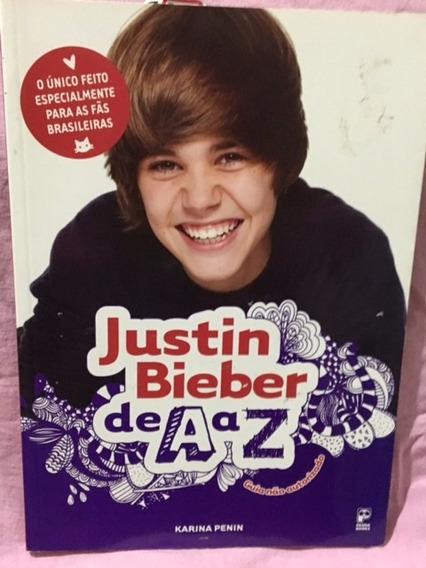 Livro Justin Bieber De A A Z (último!!)