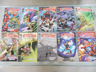 Karmatron Y Los Transformables Lote 10 Comics Nueva Epoca -4