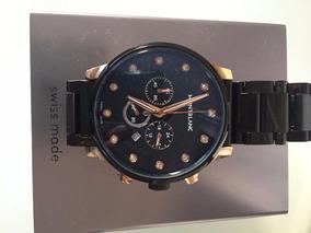 Relógio Masculino Montblanc Timewalker Black Gold