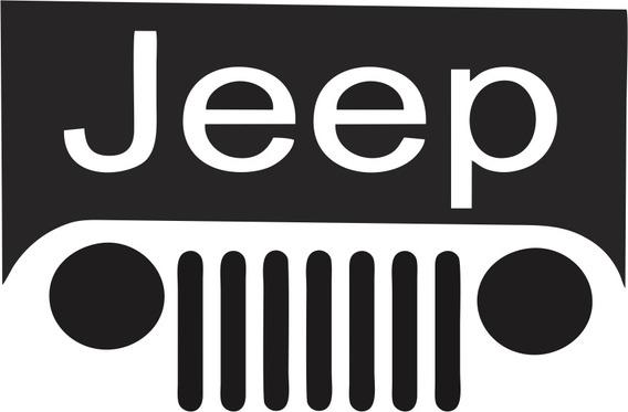 Adesivo Jeep - 14x10cm - Frete Fixo - Carro Moto Off Road