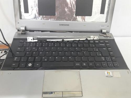 Carcaça Completa Notebook Samsung Rv 415!
