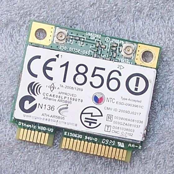 Placa Wireless Wifi Para Notebook Hp Dv4 / 518436-002