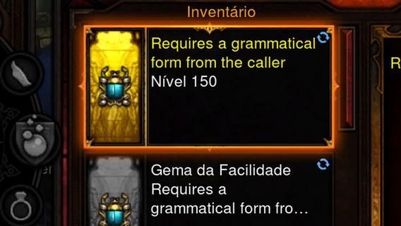 Pack 20 Gemas Da Felicidade Jogo Diablo 3 Iii Xbox One