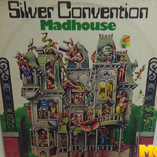 Silver Convention 1976 Madhouse Lp Plastic People