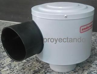 Extractor Exterior Turbo Direccional Anderson Cocina