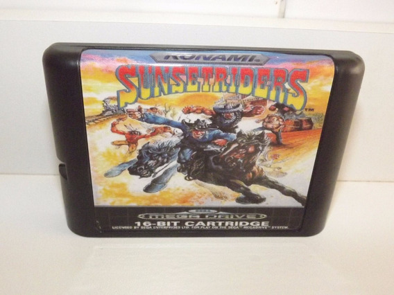Sunset Riders - Mega Drive