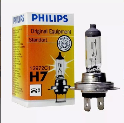 Lâmpada H7 12v 55w Philips Original