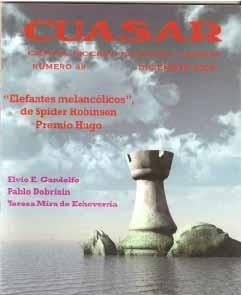 Cuásar 49, Incluye  Elefantes Melancólicos  (premio Hugo)