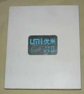 Celular Umi Xii Tarjeta Logica Perfecta (tactil Mica Dañada)
