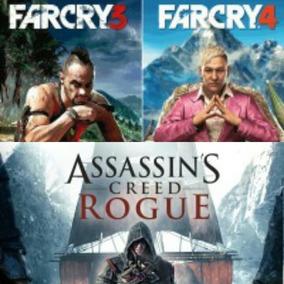 Far Cry 4 + Far Cry 3 + Assassins Creed Rogue Ps3(contapsn)
