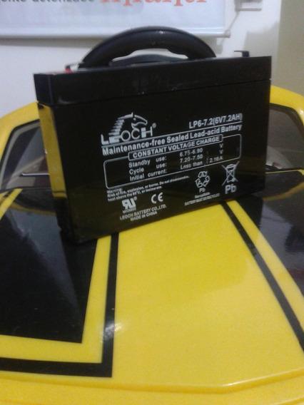 Bateria 6v P/ Carro Elétrico Camaro Bandeirante ( Original )