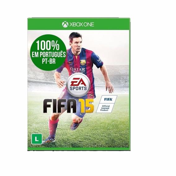 Fifa 15 Portugues Midia Fisica Xbox One Original Novo Lacrad