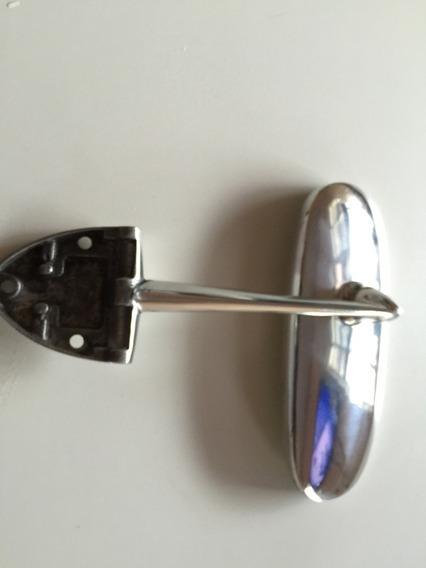 Retrovisor Interno Do Fusca Até 74, 3 Furos Em Aluminio