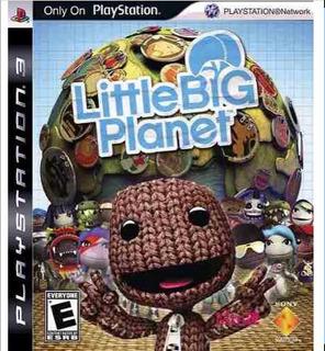 Little Big Planet 1 Y 3 Para Ps3 Solo Hoy
