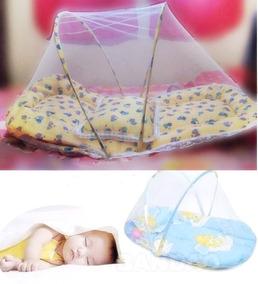 Mosquiteiro Infantil Portatil Com Véu De Proteção