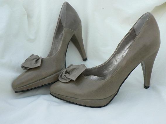 Zapato Stiletto Impecable Nº 36 37 Divino 1001zapatos