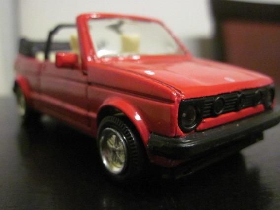 Vw Golf Cabrio 1:36/38 Welly Rojo Impec. Estado Luigi1910