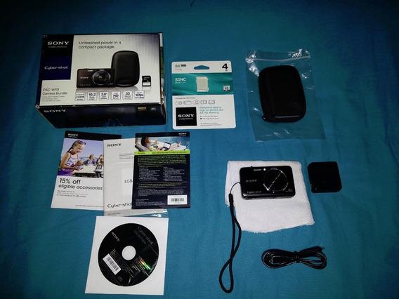 Câmera Sony Dsc-wx9 16.2 Mp E Zoom Optico 5x