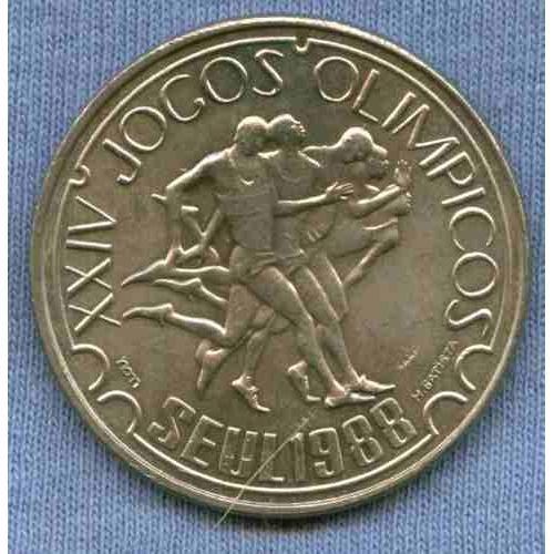 Portugal 250 Escudos 1988 * Olimpiadas Seul 1988 *