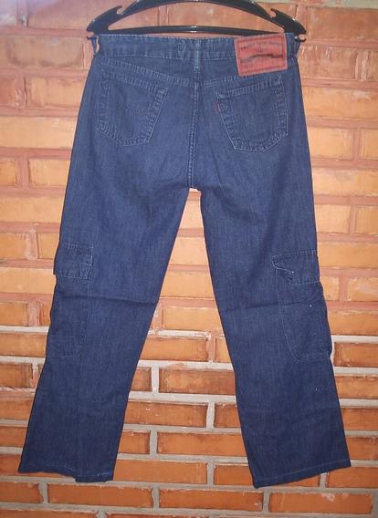 Calça Jeans Triton Carpinteiro Feminina Tamanho 38