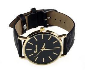 Relógio De Pulso Geneva Unissex - Frete Grátis