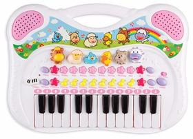 Piano Teclado Musical Infantil Sons Eletrônicos Gravador