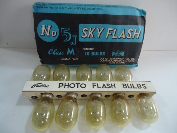 Lâmpada Para Flashe Bulbs Nº 5j Sky Flash Class M Toshiba
