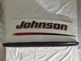 Capô Motor Johnson 25 Hp . Semi Novo . Oportunidade .