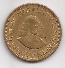 Sudafrica Moneda De 1/2 Cent Año 1961