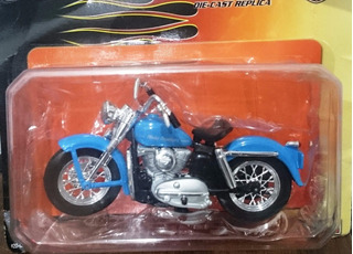 Miniatura Harley Davidson K Model 1:18 + Poster - Maisto