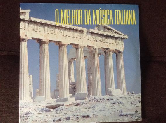 Disco Vinil O Melhor Da Música Italiana- Otimo Estado