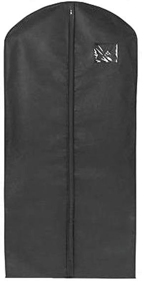 Paquete De 50 Porta Abrigos De Polipropileno Negro 60x137 Cm