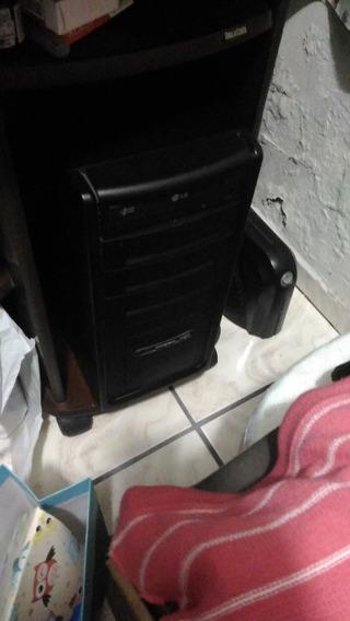 Computador Completo, Acompanha Monitor E Estabilizador