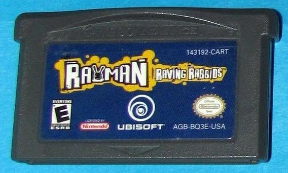 Gba: Rayman Raving Rabbids Original Americano!! Raríssimo!!