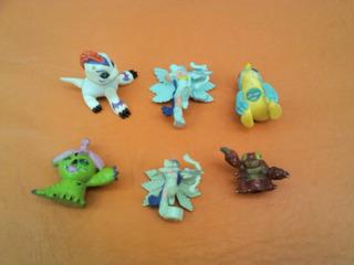 Digimon Lote X 6 Figuras Vendo Solo En Lote Ref 01