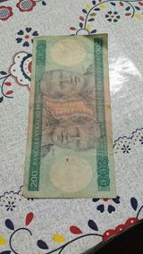 Cedula 200 Cruzeiros