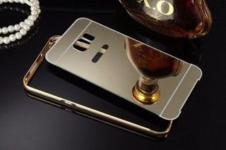 Capa Case Bumpper Samsung S6 Edge Dourada G928 Metal