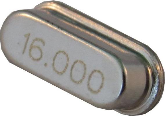 Cristal Oscilador 16.000mhz +/-20ppm - 20pf Kit C/ 10 Pçs.
