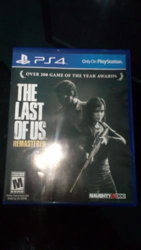 The Last Of Us Remastered (como Nuevo)