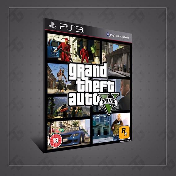 Gta 5 V Ps3 Grand Theft Auto Cod Psn Menor Preço!