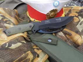 Cuchillo Yarara Tactico Cmn Con Funda Colegio Militar