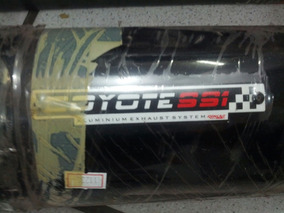 Escape Coyote Ss1 Acetinado Cg 150 Titan Fan 2009 Ks/es Pret