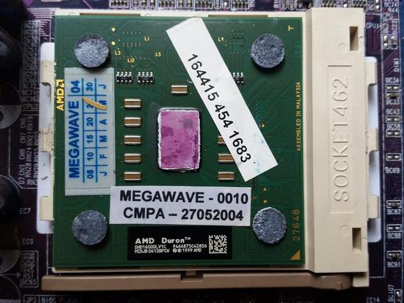 Placa Mae Ecs Amd462 L7vmm2 + Amd Duron 1600