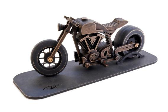 Miniatura Moto Cafe Racer