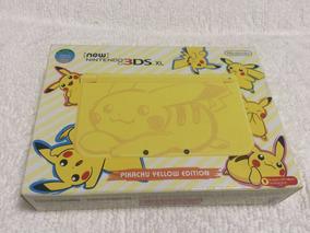 New Nintendo 3ds Xl Pikachu Yellow Edition - Novo