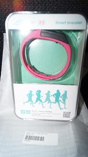 Pulseira Inteligente Bracelete Bluetooth Vidonn X5 Ip67 Rosa