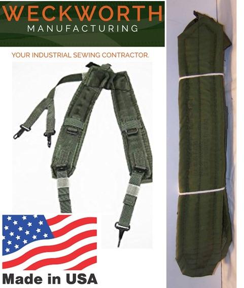 Tirantes Suspensores Militares Verdes Marca Us Nuevos