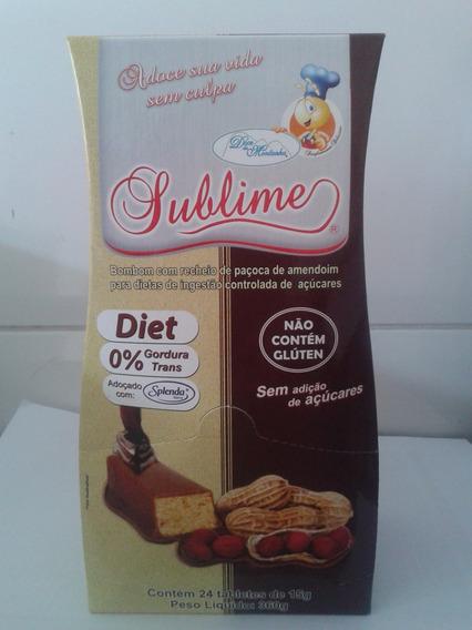Doce Da Montanha - Sublime - Paçoca C/chocolate Diet